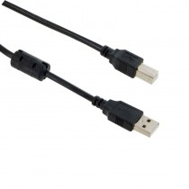 4World 05351 Kabel USB 2.0 typu A-B M/M 1.8m High Quality, ferryt