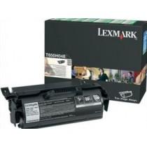 Lexmark Toner black | zwrotny | do aplikacji naklejkowych | T650dn/T650dtn/T65..