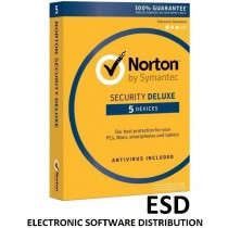 Symantec NORTON SECURITY DELUXE 3.0 PL 1 USER 5 DEVICES 12MO SPECIAL DRM KEY FTP ESD