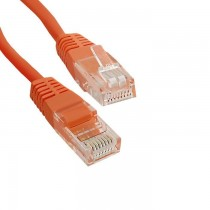 Qoltec Kabel Patchcord CROSSOVER | CAT5E | UTP | 0,5m