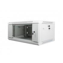 Lanberg szafa wisząca rack 19'' 4U 600x450mm szara (drzwi szklane)