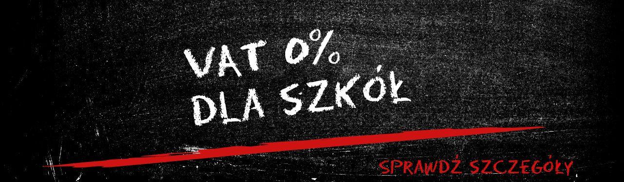 VAT 0% dla szkół